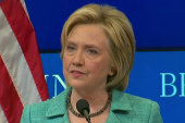 Will Hillary Clinton impact the Iran deal...