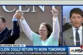 KY clerk could return to work tomorrow