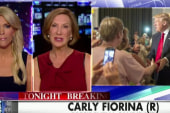 Fiorina responds to Trump's face comments