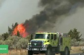 California inmates help fight wildfires