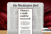 Joe: A dangerous precedent with Clinton email