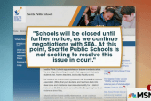 Seattle public schools closed for 4th day
