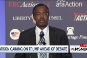 Carson is catching up in latest polling