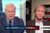Bill Maher plays Hardball