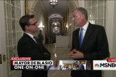 De Blasio: Blake arrest 'been well handled'