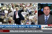 Candidates prep for tonight's GOP debate