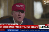 GOP candidates face off in 2nd debate