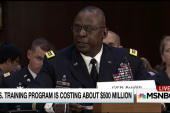 '4 or 5' in Syria trained by US, $500M spent