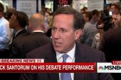 Santorum breaks from GOP on minimum wage