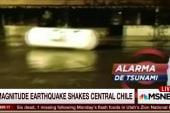Tsunami advisory after quake strikes