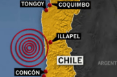 Death toll rises to 10 in Chilean earthquake