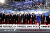 The Republican rumble: Who won?