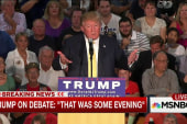 Trump boasts about debate performance