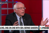 Sanders makes moral appeal to religious right