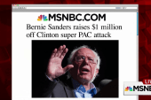 Attacking Bernie not working for Clinton PAC