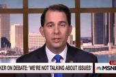 Scott Walker: Debate shortchanged Americans