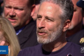 Jon Stewart lobbies for Zadroga Act