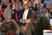 Donald Trump under fire
