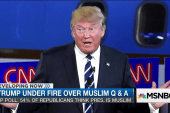 Donald Trump under fire over Muslim Q&A