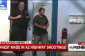 Arrest made in Arizona highway shootings