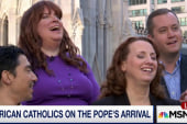 American Catholics on the Pope's arrival
