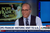 Lester Holt on the Pope
