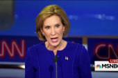 Watch Carly Fiorina make 4 bogus claims in...