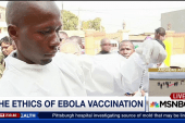 The ethics of Ebola vaccination