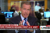 Does Pope Francis' visit transcend the...