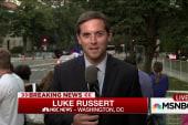 Luke Russert recaps Pope's arrival in US