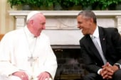 Pope Francis makes his mark on Washington