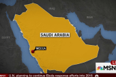 Hundreds killed in stampede outside Mecca:...