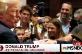 Trump: Rubio sweats more than anyone I've...
