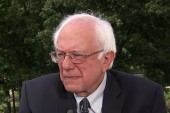 Sanders sides with the Pope on income...