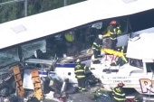 'Duck tour' vehicle and bus crash in Seattle