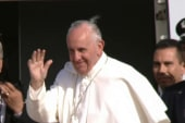 Pope Francis boards jet bound for NYC