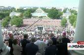Pope Francis extols Congress (no, really)