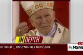 Tom Brokaw reflects on Pope John Paul's US...