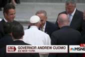 New York governor says Francis' message...