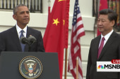 Obama welcomes China's president to WH