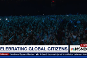Celebrating the Global Citizens Festival