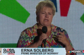 Norway PM: Make poverty history