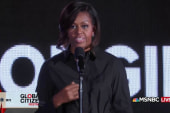 First Lady promotes #62MillionGirls
