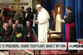 Pope to prisoners: I share your plight