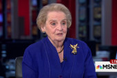 Secy. Albright: Putin just makes things up