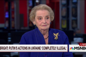 Albright: I wouldn't approve a private...