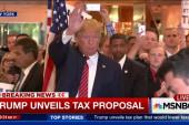 Donald Trump unveils tax plan