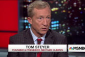 Billionaire Tom Steyer on his climate...