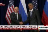 Putin 'disses' Obama, no Syria breakthrough
