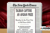 Taliban captures key Afghan city
